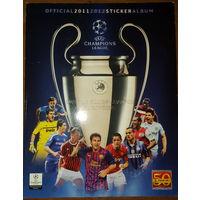 Альбом для наклеек PANINI Лига Чемпионов УЕФА 2011-2012