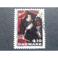 Дания 1988 король Христиан 4 в живописи