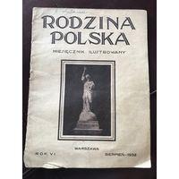 Rodzina Polska.mesiecznik ilustrowany 1932r/