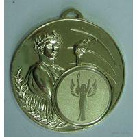 Медаль спортивная . РБ. Размер 5см