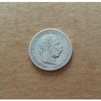Австро-Венгрия, 1 крона 1895 г. (австрийский тип), серебро