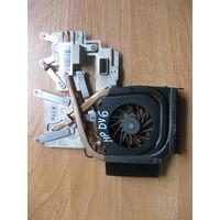 HP DV6 система охлаждения 532614-001