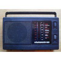 Радиоприемник Альпинист.Встроенный БП 220в. Отлично