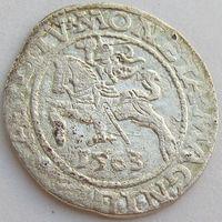 Litva /ВКЛ, полугрош/ 1/2 Grossus 1563 года, small Horseman, м.дв. Вильня, Kopicki 3269