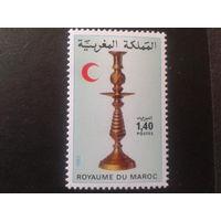 Марокко 1982 Красный полумесяц