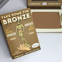 THEBALM бронзер для лица TAKE HOME THE BRONZE Томас светло-коричневая
