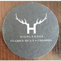 Подставка под пиво Highlander