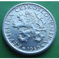 Чехословакия. 1 крона 1950.