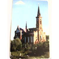Телефонная карточка.Поставы.Костёл Св.Антония Падуанского 2007 год