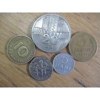 Пять монет/3 с рубля!