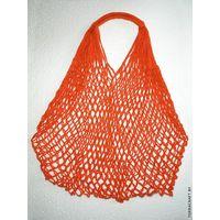 "Сетчатая сумка ""Оранжевая"""