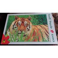 """Пазл """"Тигр в траве"""""""