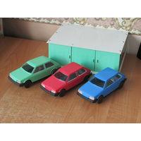 Детский гараж с автомобилями из СССР! С 1 рубля!