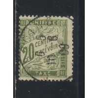 Франция Налоговые 1893 Номинал Стандарт #31