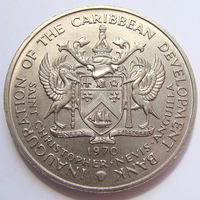 О. Сент-Кристофер 4 доллара 1970 г