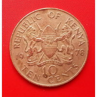 59-25 Кения, 10 центов 1978 г.