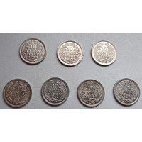 """Нидерланды 10 центов, 1944 """"P"""" - Филадельфия 6-4-1*7"""