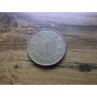 Мальта 1 цент 1975
