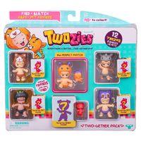 Пупсики Twozies (Тузис), 6 кукол и 6 питомцев, набор