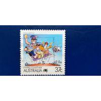 Австралия 1988 год. Почтовые услуги
