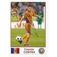 Cosmin Contra(Румыния). Живой автограф на фотографии.
