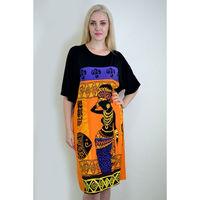 Туника Платье Африка Р-р 52 Вискоза