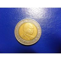 Кения 20 шиллингов 1998 г.