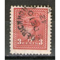 Канада. Михель- 218. Гашеная