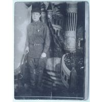 Фото военного. 1940 г. 9х12 см.