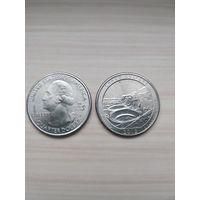 США 25 центов 2012 Парк Чако Нью-Мексико  =D=