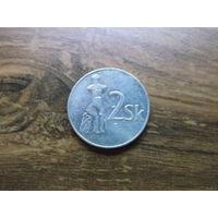 Словакия 2 кроны 1993 (2)
