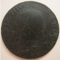 Испания 8 мараведи Король Фердинанд VII (1814-1833) (d)