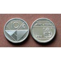Аруба 10 центов 2016