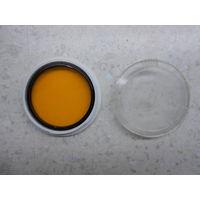 Светофильтр оранжевый О-2.8х 49х0.75 мм в футляре