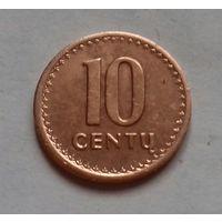 10 центов, Литва 1991 г.