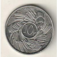 Бурунди 10 франк 2011