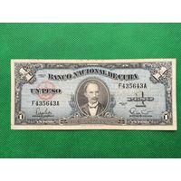 Редкая банкнота Куба лот 1