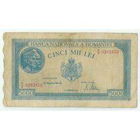 Румыния, 5000 лей 1944 год