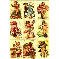 Календарики Чехии,дети,9 шт, 2010