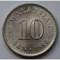 Малайзия 10 сен, 1980 г.