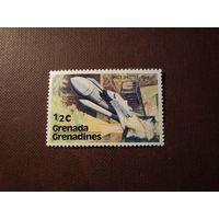 Гренада и Гренадины 1978 г. Космический челнок США .