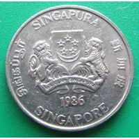 Сингапур,20центов1986г.