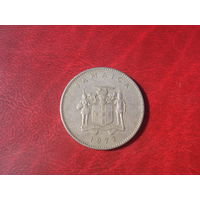 10 центов 1972 год Ямайка