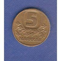 5 марок 1988 г.