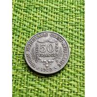 Западная Африка 50 франков, 1972 год