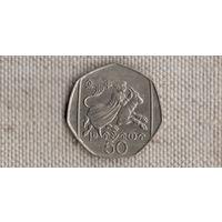 Кипр 50 центов 1998//(NS)