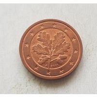 2 евроцента 2011 Германия A