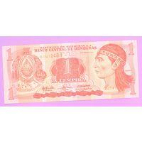 Гондурас. 1 лемпир (образца 2004 года, UNC)