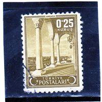 Турция. Ми-1113. Вид Анкары. 1943.