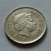 10 пенсов, Великобритания 2000 г.